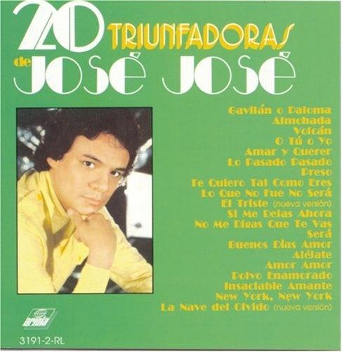 20 Triunfadoras de José José