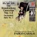 Bach: The Brandenburg Concertos Nos. 1-3; Orchestral Suite No. 1